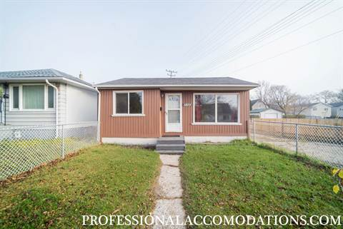 Winnipeg North West 3 bedroom House