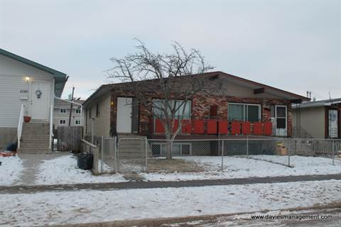 Edmonton Four-Plex for rent, click for more details...
