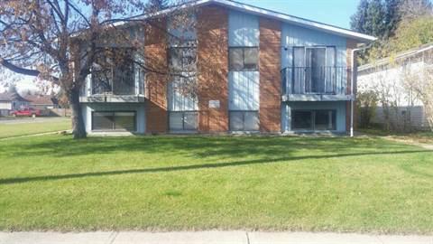 Red Deer Alberta Four-Plex For Rent