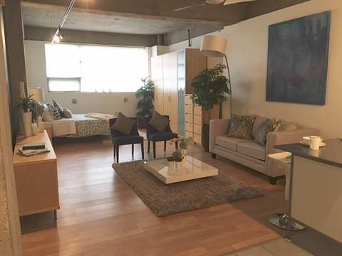 Edmonton Loft for rent, click for more details...