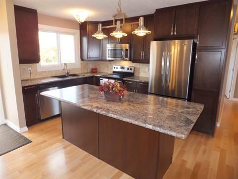 Edmonton Maison. Kitchen