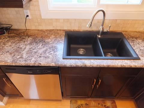 Edmonton Maison. Kitchen Sink