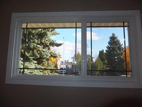 Edmonton Maison. View from Master Bedroom Window