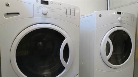 Edmonton House. High Efficient Laundry