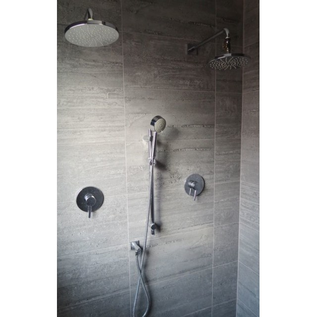 Edmonton House. Double Head Ensuite Shower