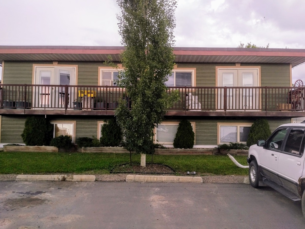 Stettler Four-Plex for rent, click for more details...