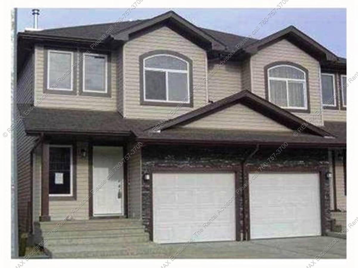 Stony Plain Duplex for rent, click for more details...