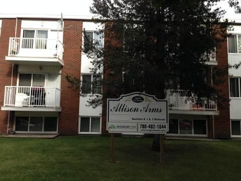 Edmonton Apartment. Allison Arms