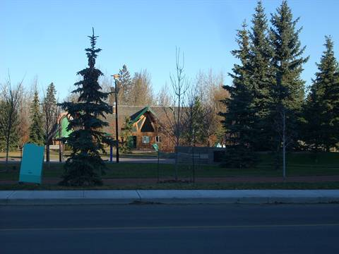 Spruce Grove Condominium. Central Park (view from suite): can't wait to see the Christmas lights!!
