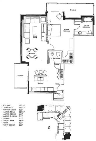 Spruce Grove Condominium. Floor plan: lay-out your furniture!!