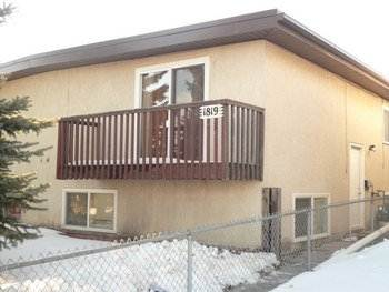 Calgary Alberta Four-Plex for rent, click for details...