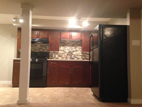 Edmonton South East 3 bedroom Basement Suite For Rent