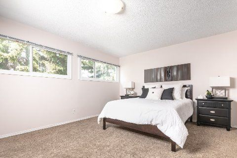 Edmonton Townhouse. Bright and expanded master bedroom