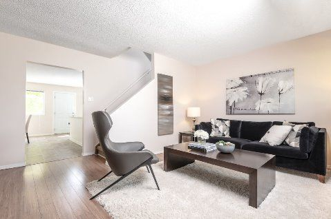 Edmonton Townhouse. Bright and spacious living room