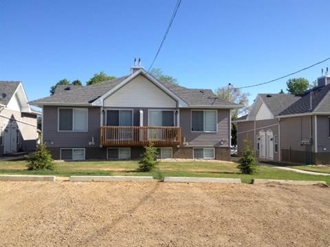 Camrose Alberta Four-Plex for rent, click for details...