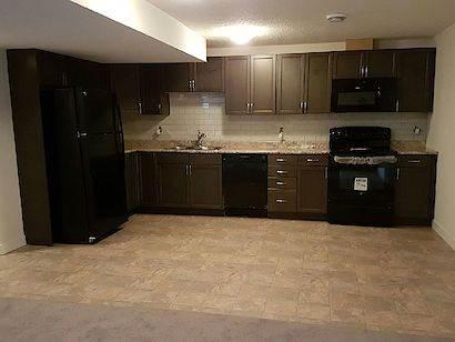 Edmonton North East 3 bedroom Basement Suite