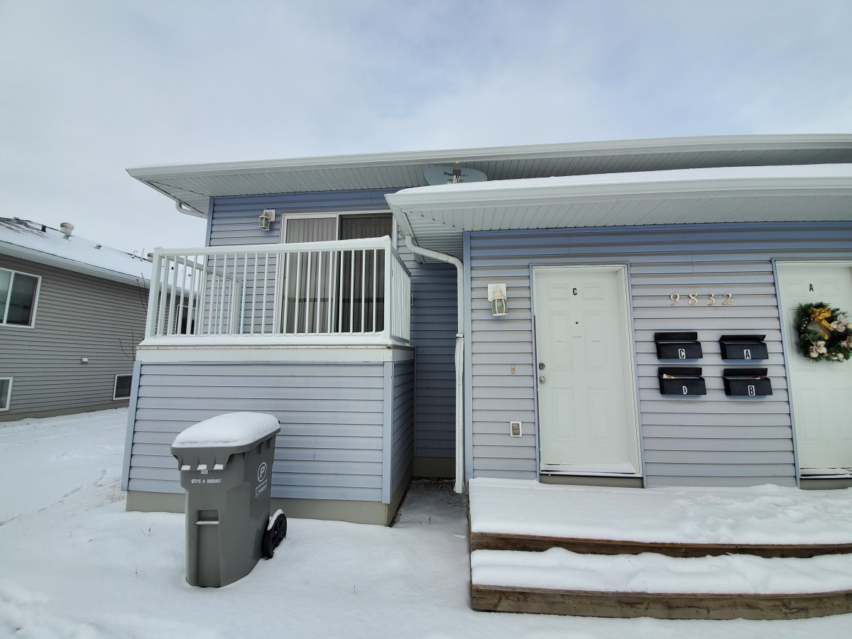 Grande Prairie Alberta Four-Plex For Rent