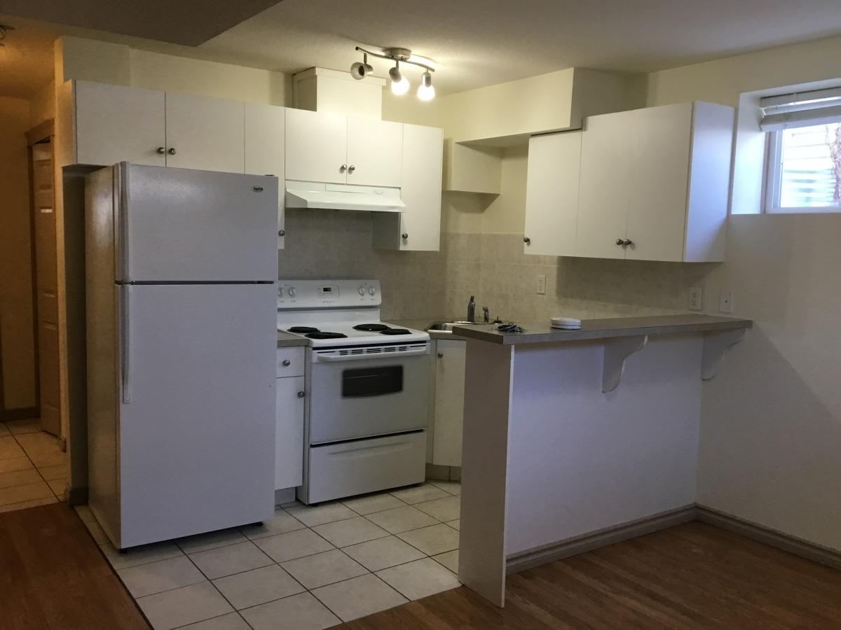 Edmonton West One Bedroom Basement Suite For Rent