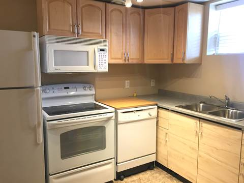 Edmonton North East 1 bedroom Basement Suite For Rent