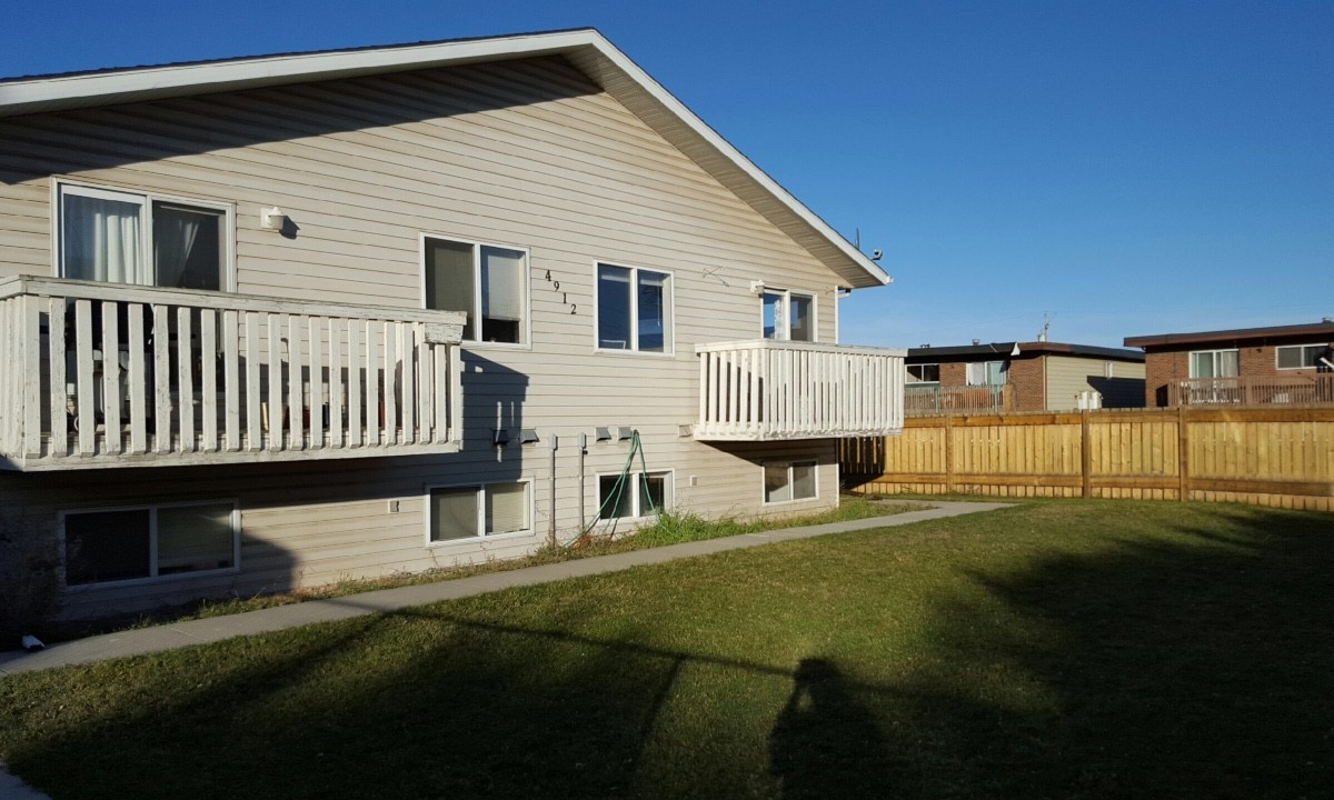 Innisfail Four-Plex for rent, click for more details...