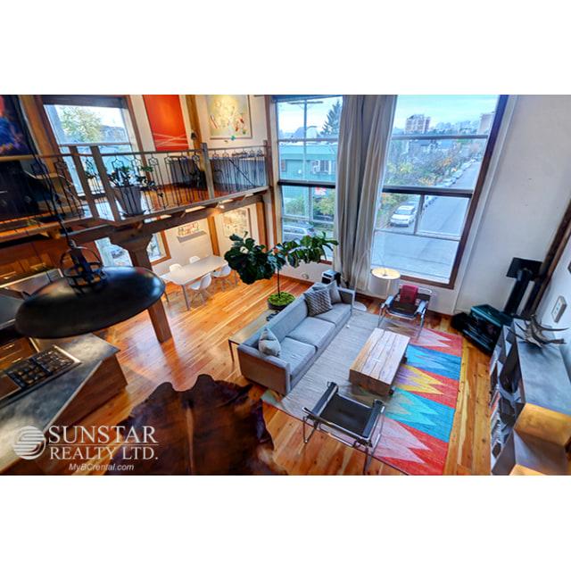 Vancouver Loft for rent, click for more details...