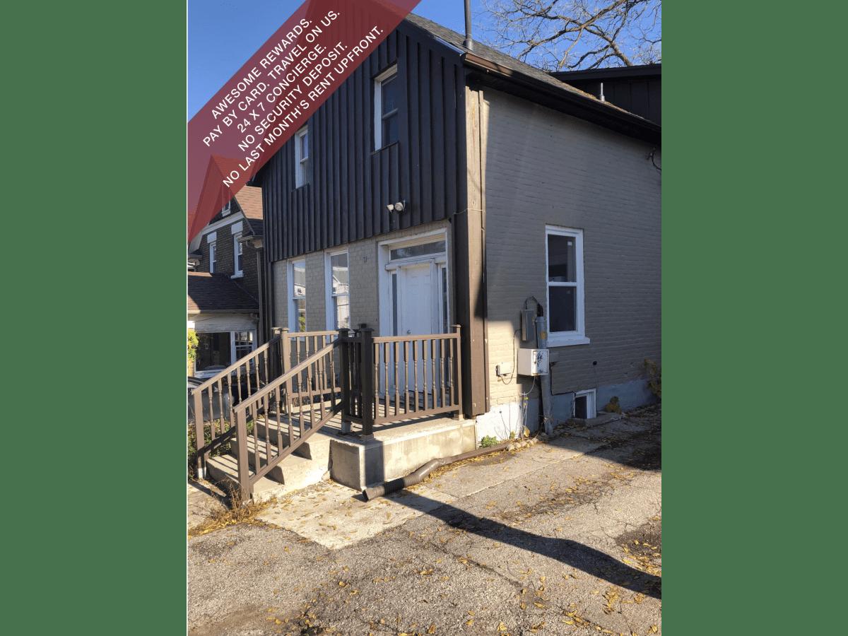 Kitchener Duplex for rent, click for more details...
