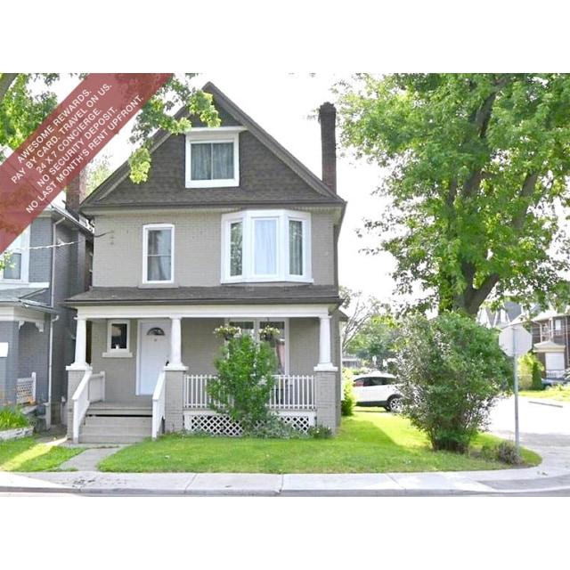 Hamilton Triplex for rent, click for more details...