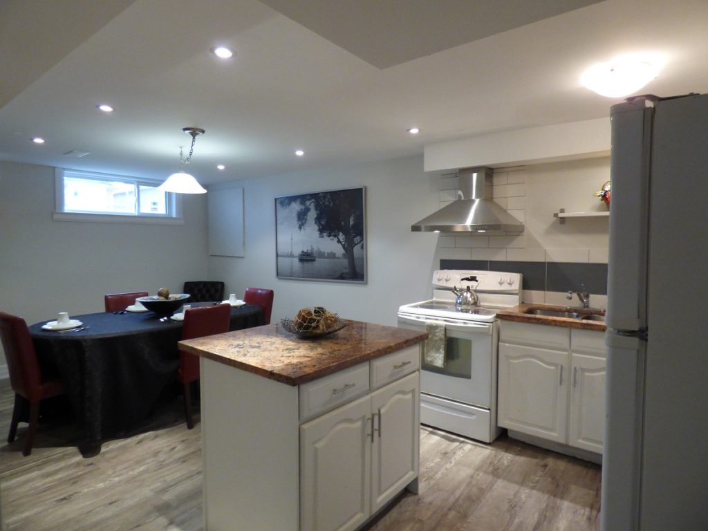 York Appartement en sous-sol pour le loyer, cliquer pour plus de détails...
