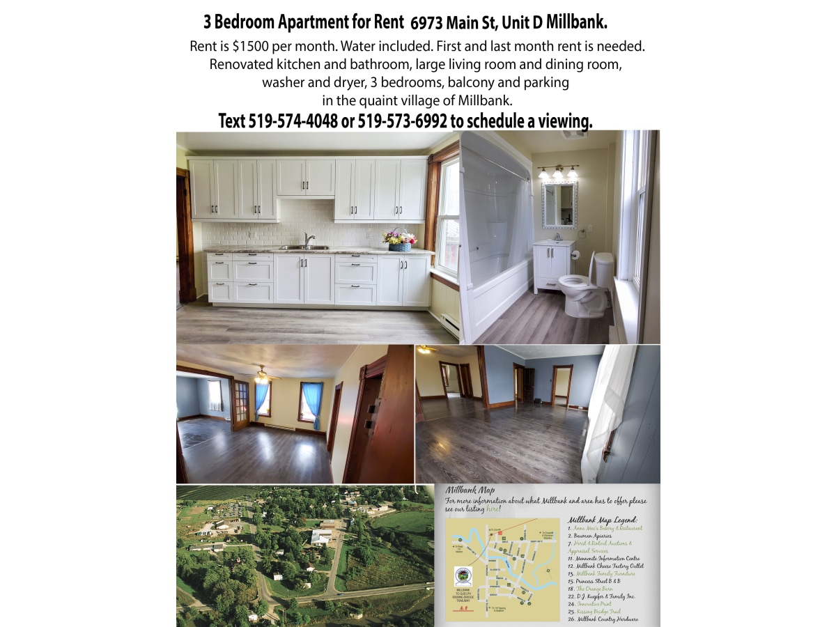 Millbank Apartment for rent, click for more details...